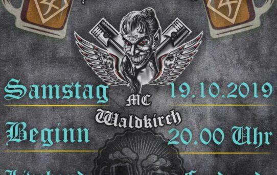 19.10.2019 Biketoberparty bei den Black Devils in Waldkirch