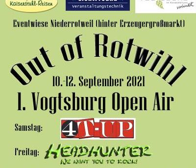 10.09.2021 Out of Rotwihl - Vogtsburg Open Air